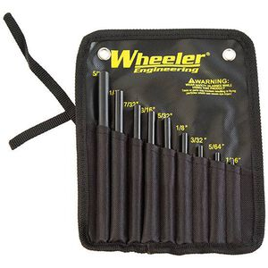 Wheeler Engineering Roll Pin Starter Set 9 Pieces Nylon Pouch 710910