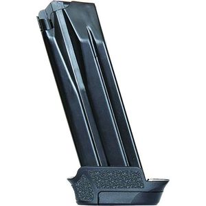 H&K Sub-Compact VP9SK/P30SK Magazine 9mm Luger 13 Rounds Steel Blued Finish