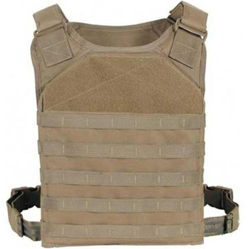 Voodoo Tactical MOLLE RAT Plate Carrier Vest Coyote 20-9017007000