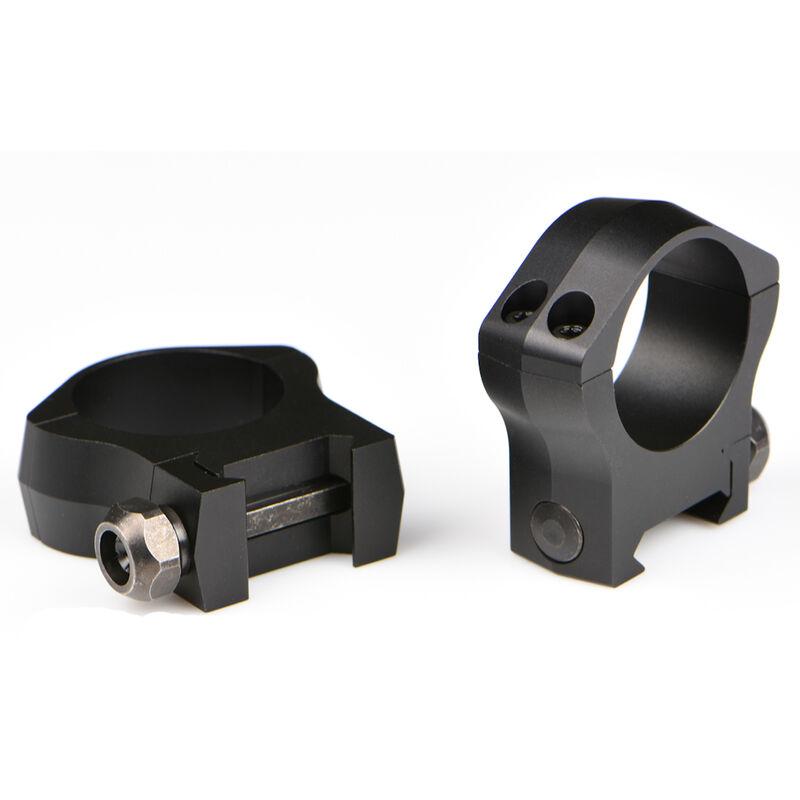 Warne Mountain Tech Weaver/Picatinny Ring 30mm High Height Aluminum Matte Black