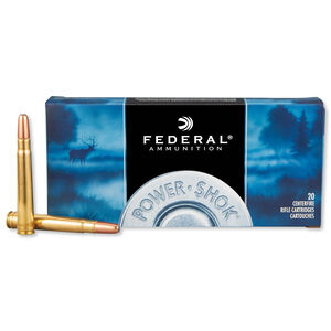 Federal Power-Shok .375 H&H Magnum Ammunition 20 Rounds JSP 270 Grains 375A