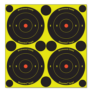 """Birchwood Casey Shoot-N-C Target 3"""" Round Bullseye 12 Pack"""