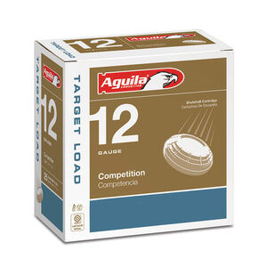 "Aguila Target Heavy Load 12 Gauge Shotshells 25 Rounds 2 3/4"" 1 1/8 oz #7.5 1CHB1357"