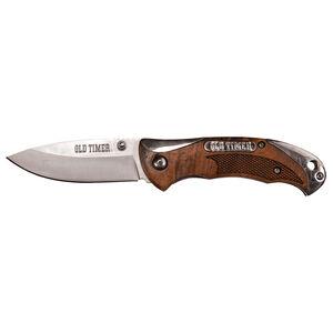 """Schrade Old Timer 3"""" High Carbon Steel Folding Knife"""