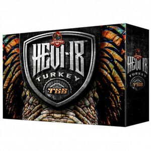 "Hevi-Shot Hevi-18 Turkey 20 Gauge Ammunition 5 Round Box 3"" #7 Tungsten Lead Free 1-1/2oz 1250 fps"