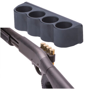 Mesa Tactical Sureshell Shotshell Carrier Right Side Remington 870 20 Gauge Four Shell Carrier Black 93230