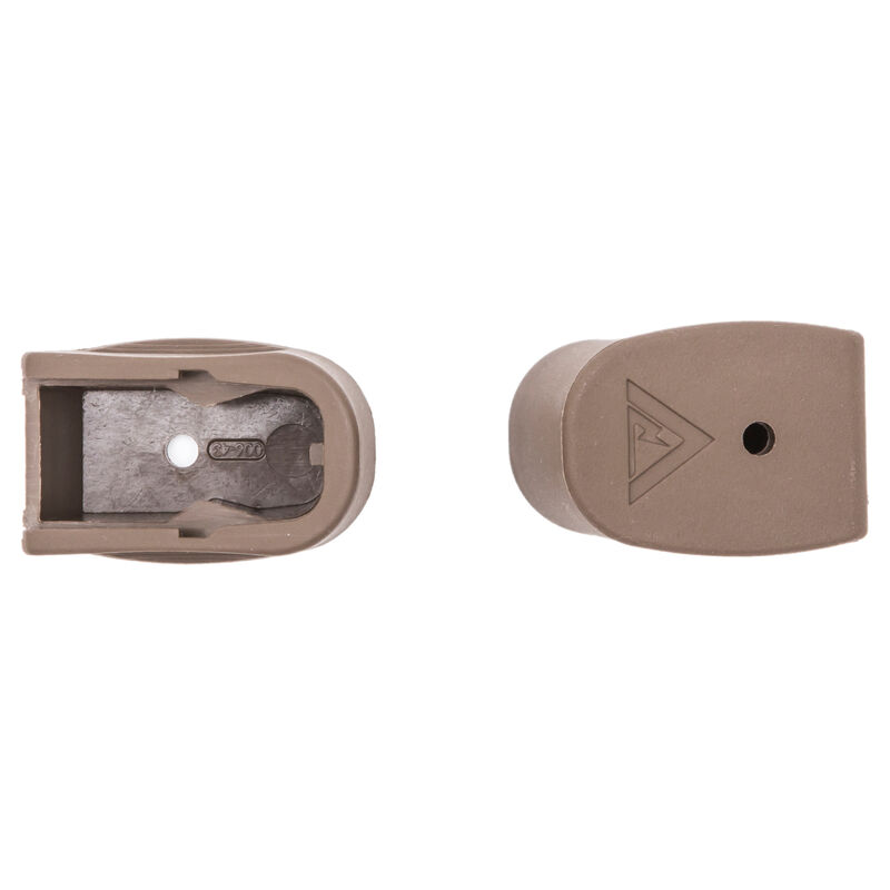 TangoDown Vickers Tactical +2 Magazine Extension GLOCK 43 Polymer Tan