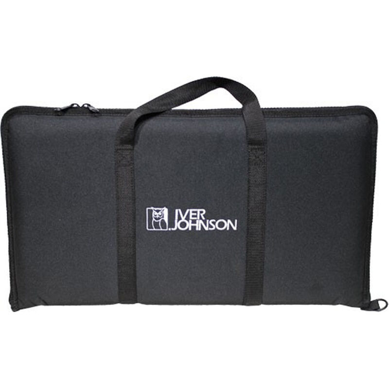 "Iver Johnson Shotgun Case for Foldable Shotgun with Single 18.5"" Barrel Synthetic Black"