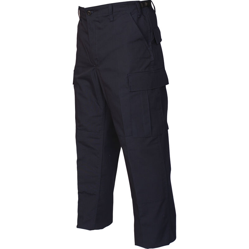 Tru-Spec Gen-1 Police BDU Pants Size Medium Length Regular Polyester/Cotton Ripstop Navy 1996004