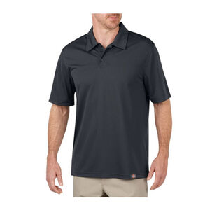 Dickies Men's WorkTech Short Sleeve Performance Polyester Polo Shirt Extra Large Dow Charcoal LS405DC