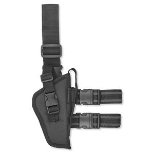 Bulldog Cases Tac Leg Holster Large Frame Autos Right Hand Nylon Black WTAC 8R