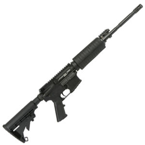 "Adams Arms PZ AR-15 5.56 NATO Semi Auto Rifle 16"" Barrel 30 Rounds Polymer Hand Guard Collapsible Stock Matte Black Finish"