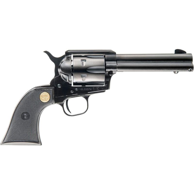 """Chiappa Firearms SAA 1873 Regulator Single Action Revolver .38 Special 4.75"""" Barrel 6 Rounds Polymer Grip Black Finish"""