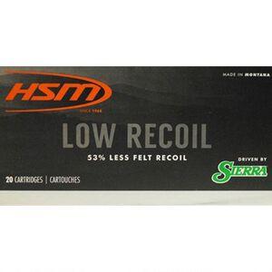 HSM Low Recoil .30-06 Spring Ammunition 20 Rounds 150 Grain Sierra SBT