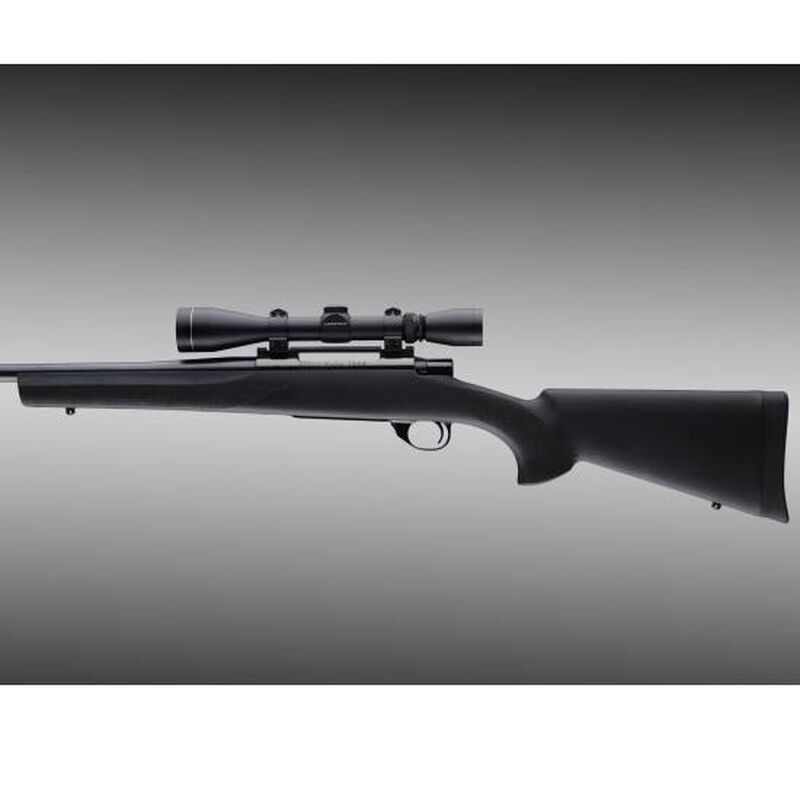 Hogue OverMold Stock Winchester Model 70 Long Action Pillar Bed Rubber  Black 07001