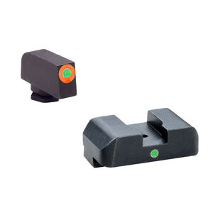 AmeriGlo Pro I-Dot 2 Dot Tritium Night Sights Set For GLOCK, Steel