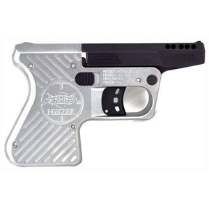 """Heizer Defense Pocket AR Break Action Single Shot Pistol .223 Remington 3.87"""" Ported Barrel One Round Capacity Two Tone Matte Black Barrel/Stainless Steel Frame PAR1SSP"""