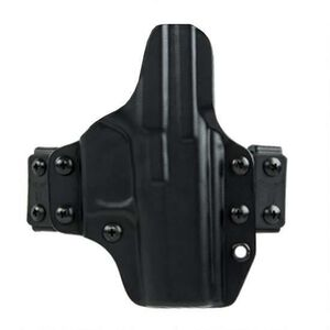 Blade Tech Eclipse Straight Drop Belt Holster For GLOCK 43 With Streamlight TLR6 Ambidextrous Polymer Black HOLX010186053950