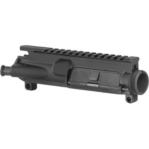 Yankee Hill Machine AR-15 Flat Top A3 Upper Receiver Assembly with M4 Feed Ramps Port Door and Forward Assist Mil-Spec Aluminum Black