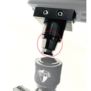 Mid-Evil Industries QD Tripod Adaptor Aluminum Black
