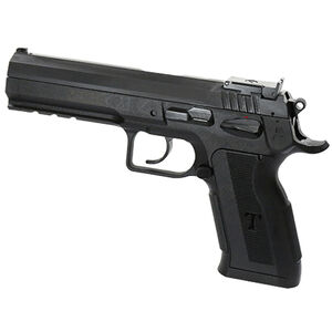 """EAA Witness P Match Pro Semi Automatic Pistol .38 Super 4.75"""" Barrel 17 Rounds Polymer Competition Frame DA/SA Trigger Fully Adjustable Super Sight Black Finish"""