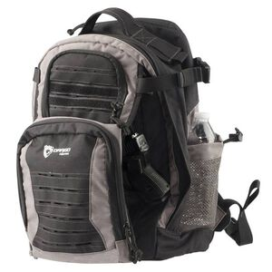 Drago Gear Defender Backpack 17.5x14.5x11.25 Dual Beverage Holder AR Magazine Pouches Shadow Finish
