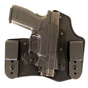DeSantis Intruder IWB Holster S&W Bodyguard 380 Right Hand Leather/Kydex Black 105KAU7Z0