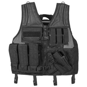 Fox Outdoor Big & Tall Assault Cross Draw Vest Black