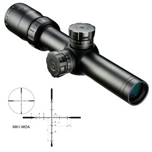 Nikon M-TACTICAL 1-4X24 Riflescope MK1-MOA MT Reticle Fixed Parallax Matte Black