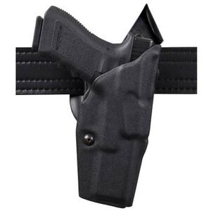Safariland 6390 S&W M&P 9 and 40 with Light, Mid Ride ALS Duty Holster, Right Hand, STX Tactical Black 6390-2192-131