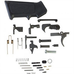 P80 AR-15 Standard Mil-Spec Lower Parts Kit with A2 Grip
