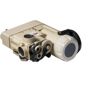 Steiner DBAL-D2 Civilian Dual Beam Aiming Laser / IR Laser Green Laser and IR Illuminator Desert Sand