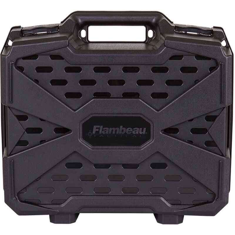 Flambeau Double Deep Tactical Pistol Case, Black