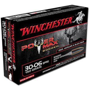 Winchester 30-06 SPRG 150 Grain Bonded PHP 20 Round Box