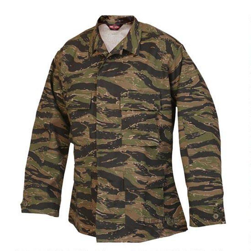 Tru-Spec Men's BDU Coat Small Cotton Polyester Vietnam Tiger Stripe