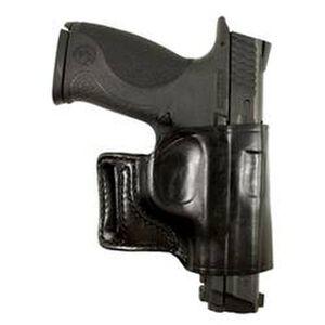 DeSantis Gunhide E-GAT Belt Slide Holster S&W M&P Shield 9/40 Right Hand Leather Black 115BAX7Z0
