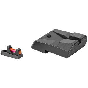 Trijicon Fiber Sights For CZ P10 Series Red/Green Fiber Optic Sights Steel Black