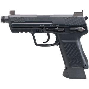 "H&K HK45 Compact Tactical V1 Semi Auto Pistol .45 ACP 4.57"" Threaded Barrel 10 Rounds Polymer Frame Black"