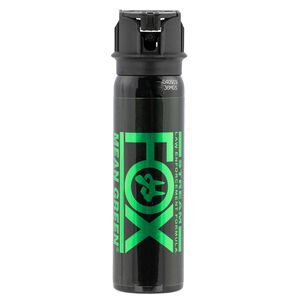 Personal Security Products Fox Mean Green Pepper Spray 3 OZ Stream