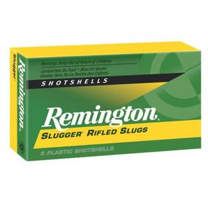 "Ammo .410 Bore Remington Rifled Slug 2-1/2"" 1/5 Ounce 5 Round Box 1830 fps 02120"