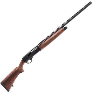 "Savage Arms Stevens S1200 Semi Auto Shotgun 12 Gauge 3"" Chamber 28"" Barrel 4 Rounds Vent Rib Bead Front Sight Walnut Stock Black Blued Finish 22582"