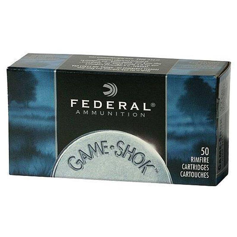 Federal .22 LR Ammunition 50 Rounds #12 Lead Shot