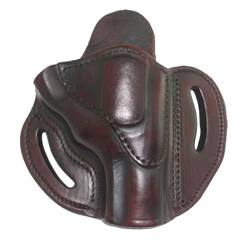1791 Gunleather RVH-2S OWB Belt Holster for K Frame Revolvers Right Hand Draw Leather Signature Brown