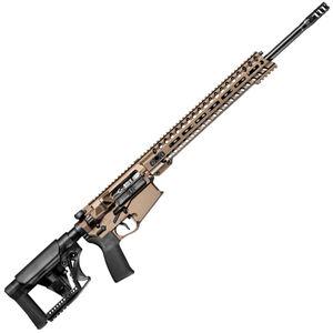 "POF Revolution Gen4 AR Style 6.5 Creedmoor Semi Auto Rifle 20"" Barrel 20 Rounds 14.5"" M-LOK Free Float Hand Guard MFT Furniture Burnt Bronze"