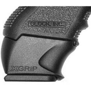 XGrip GLOCK 26-27 Magazine Adapter Magazine Spacer for Full Size GLOCK 17/22/31 Magazines Installed Into GLOCK 26/27/33 Frames Matte Black Finish