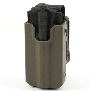 Eleven 10 RIGID TQ Case for SOFTT/SOFTT-W Slick Front Polymer Malice Clips Plain Finish Ranger Green