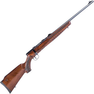 "Savage B22 Magnum G Bolt Action Rimfire Rifle .22 WMR 21"" Barrel 10 Rounds Wood Stock Blued Finish"