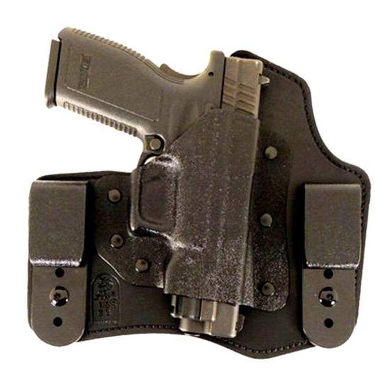 DeSantis 105 The Intruder IWB Holster For GLOCK 19/17/22/23 Right Hand Leather/Kydex Black 105KAB2Z0