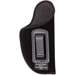 "BLACKHAWK! Inside the Pants Holster 4.5-5"" Large Autos Right Hand Nylon Black 73IP03BK-R"