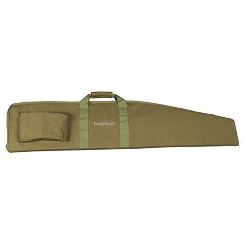 """Uncle Mike's Canvas Rifle Case  50"""" Green 41112"""